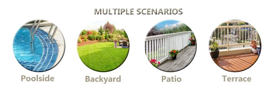 Multi-scene application