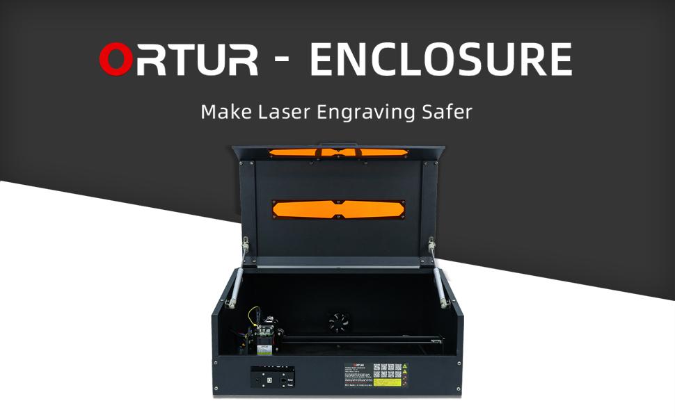 Ortur laser master 2 enclosure