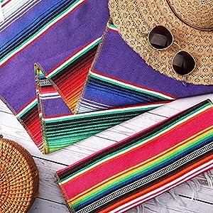 Mexican Serape Table Runner
