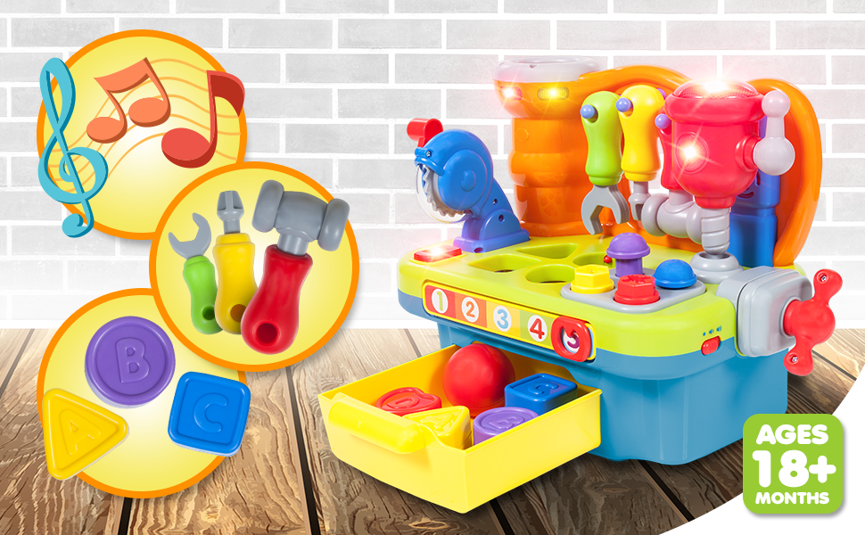 1yearoldtoy boy toys gifts for 1 year old boy baby boy toys 12-18 months  present  first birthday