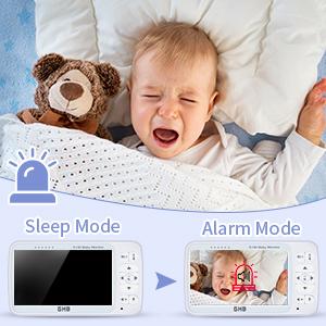 video baby monitor energy saving