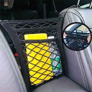 Four-Side Elasticity Car Net for Dogs