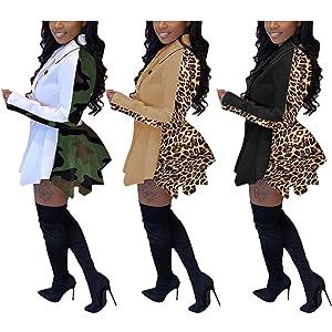 Leopard Trench Coat