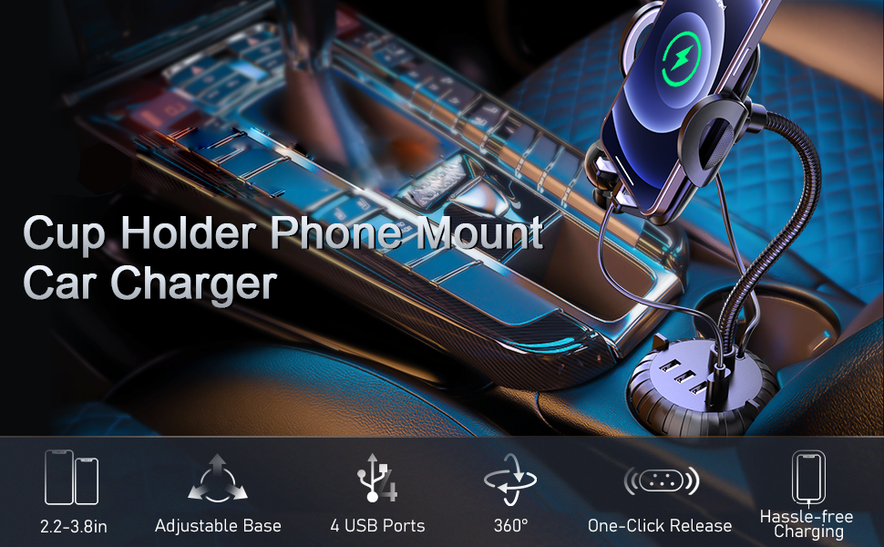 cup holder phone mount cup holder for car cell phone holder car cell phone automobile cradles