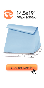 Metronic Poly Mailers 14.5x19