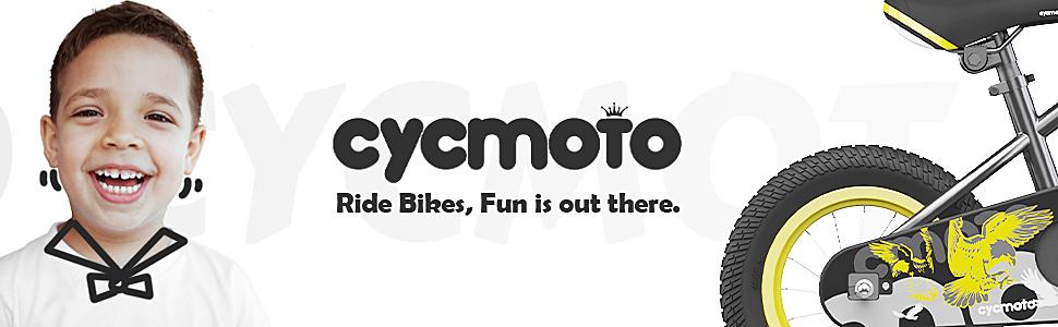 cycmoto hawk black bike