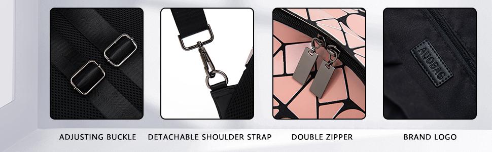 Backpack details display