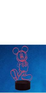 Mickey 3D Night Light