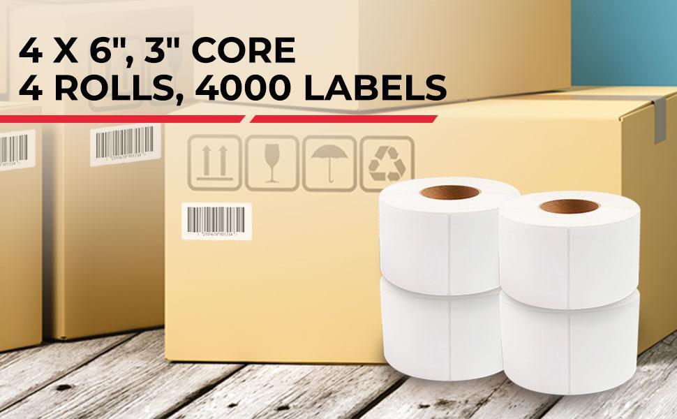 ZE Label 4 rolls
