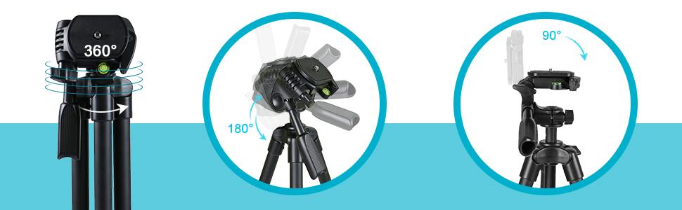 camera tripod with bubble level
