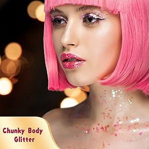 Chunky Body  Glitter