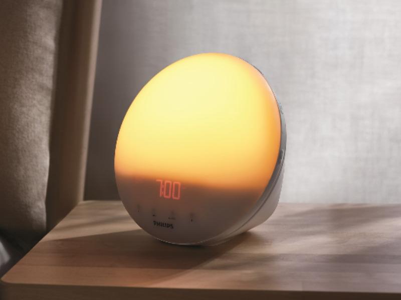 Med Wake-up Light och en färgsatt soluppgång