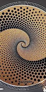 Psychedelic Geometric dot art