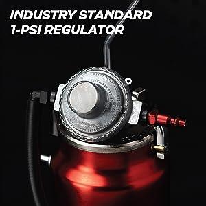 automotive smoke machine regulator