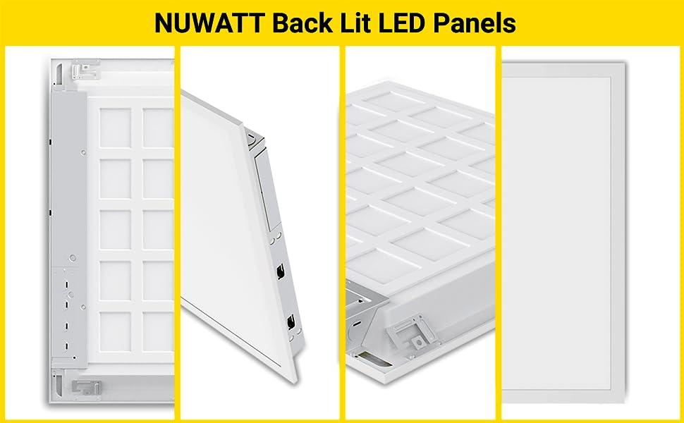 nuwatt backlit panel imagery