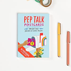 Pep Talk Postcards, Assorted Friendship Cards to Encourage Friends, You Got This!