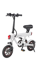 DYU V1 Smart Bike-White
