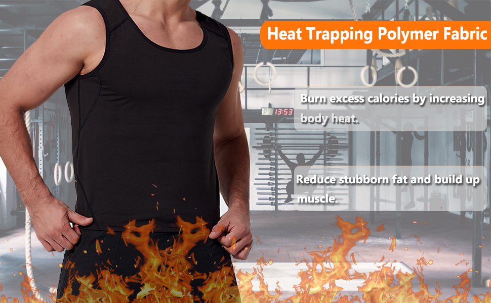 heat trapping polymer vest