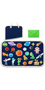 SOLAR SYSTEM felt board toddlers foldable travel friendly 1.jpg