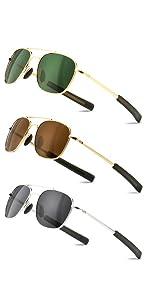 Pilot Aviator Sunglasses