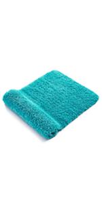 Alfombra antideslizante azul royal