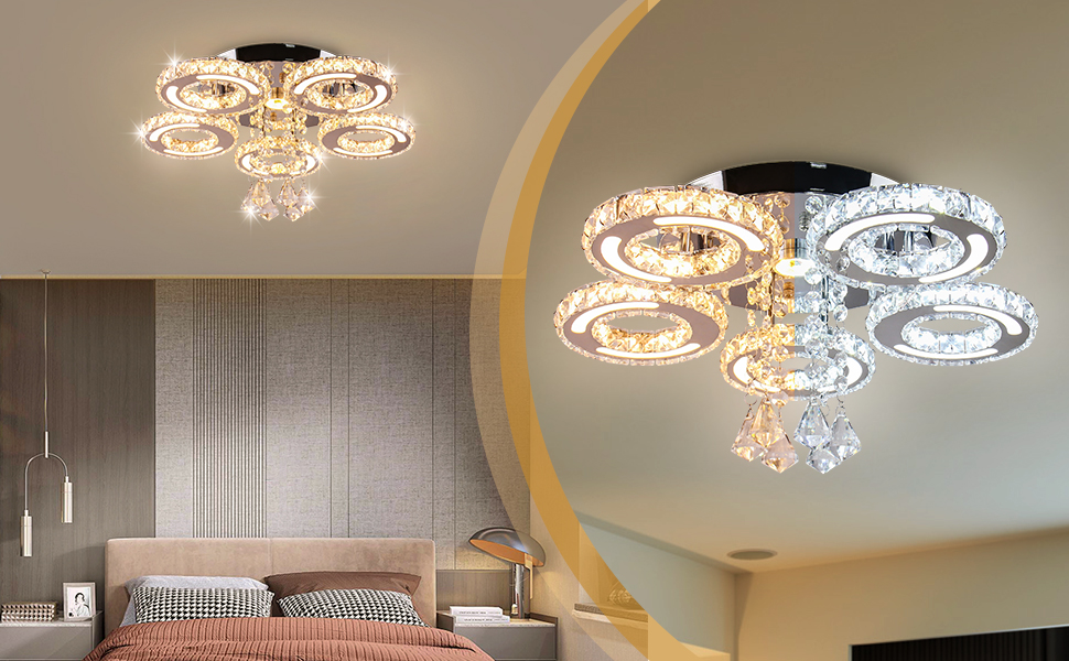 stainless steel chandelier