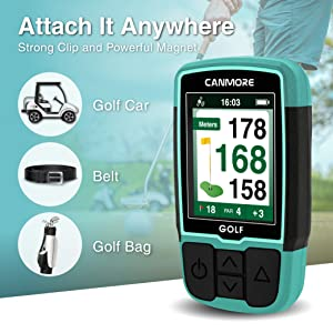 CANMORE best golf gps devices