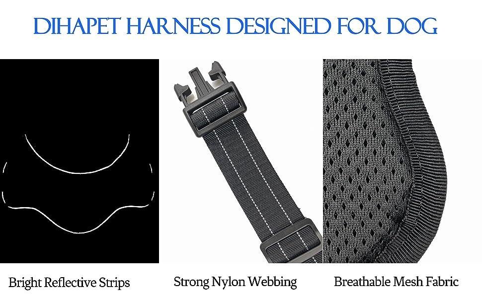 dog harness for large dog