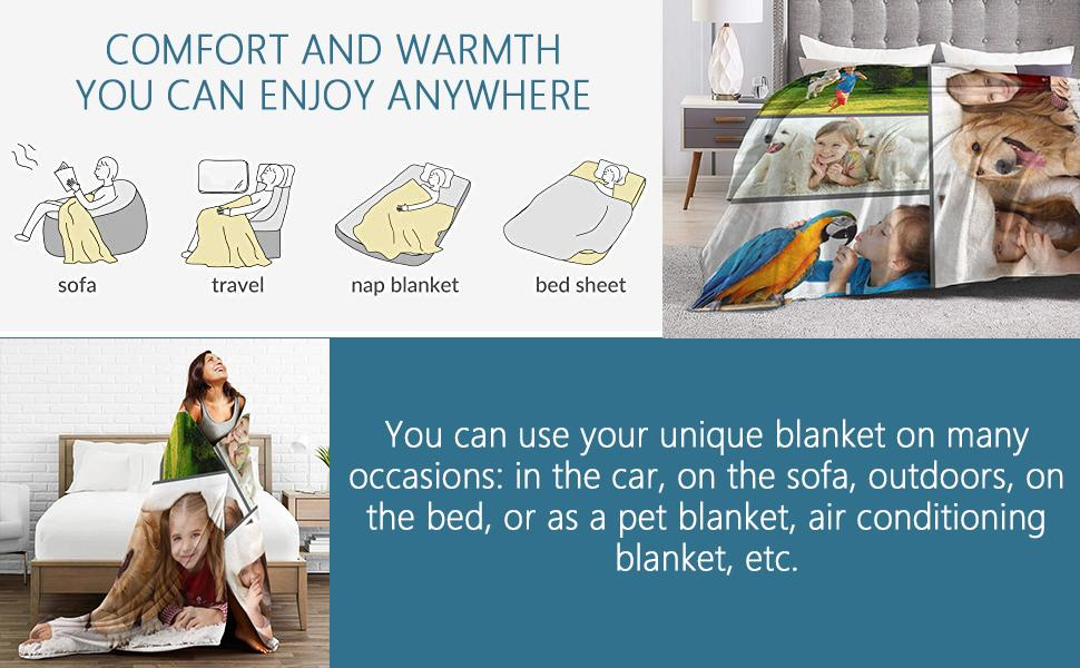 COMFORT AND WARMTH  YOU CAN ENJOY ANYWHERE