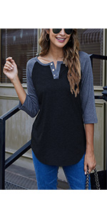 3/4 Sleeve Shirts Women