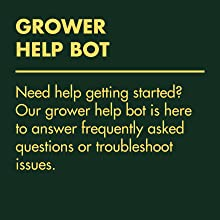 Grower Help Bot - answer frequently asked questions or troubleshoot issues