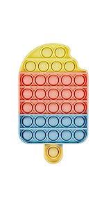 Push Pop Bubble Sensory Fidget Toy Ice Lolly