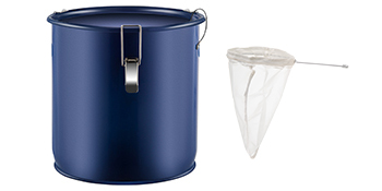 grease bucket with lid
