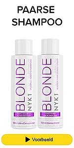 Paarse Shampoo Voor Blond Haar