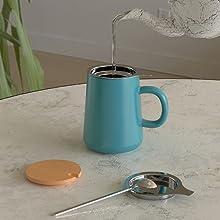 tea steeping cup