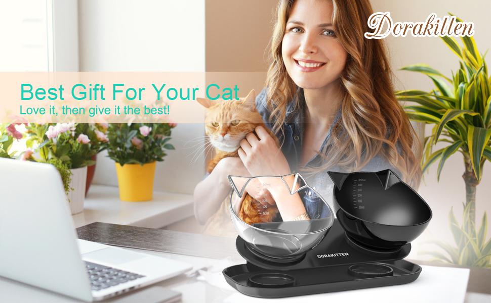 Dorakitten Cat Bowl Best Gift For Your Cat