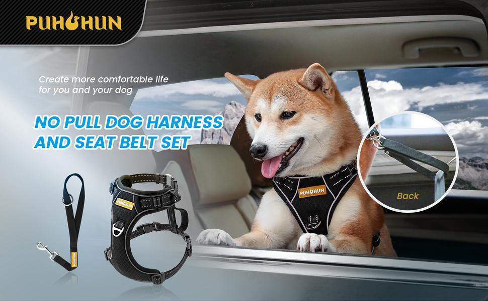 PUHOHUN Dog Harness