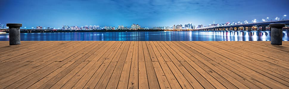Exterior Liquid Wood is even durable enough for decking