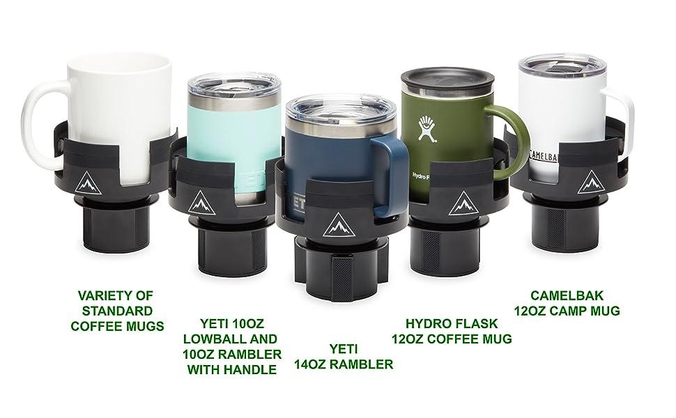 comparison for different mugs