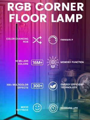 RGB CORNER FLOOR LAMP