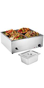 countertop food warmer commercial food warmer electric steam table