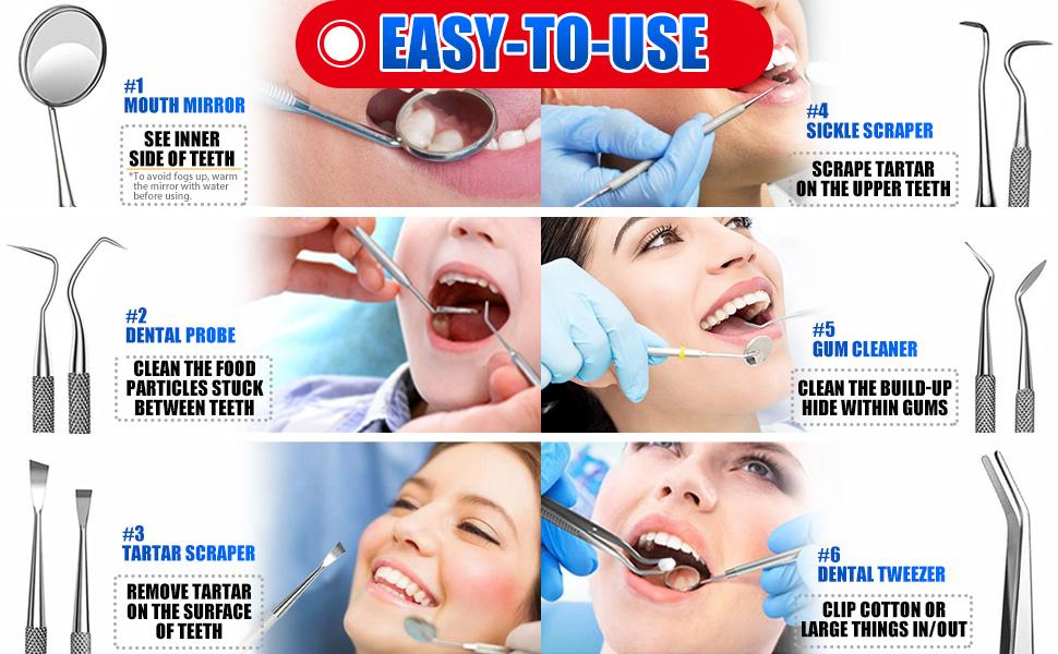 dental cleaning tools