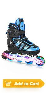 light up skates for boys