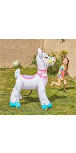 Inflatable Llama Water Sprinkler