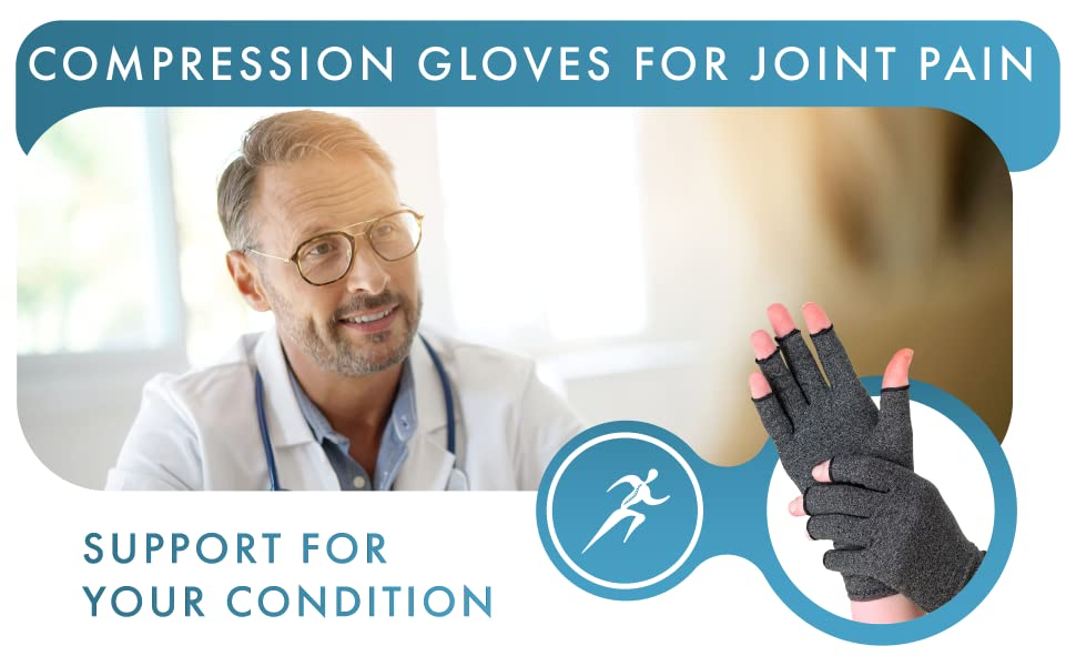 Compression Gloves for Joint Pain