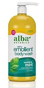 sparkling mint body wash