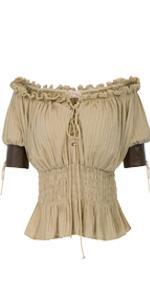 women steampunk shirt