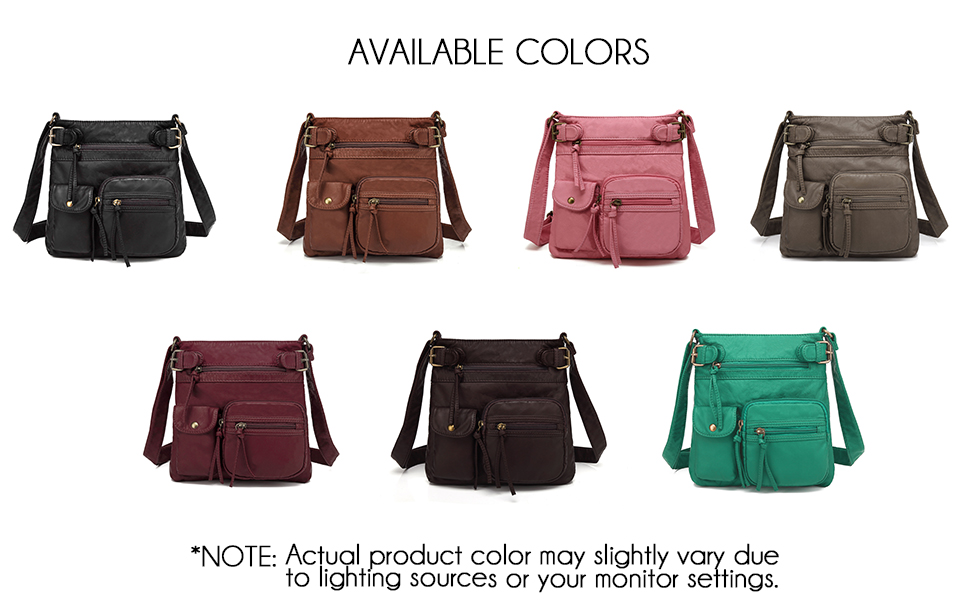 many color options to choose from such as pink, burgundy, green, grey, coffee brown and brown
