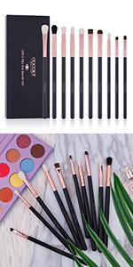 eyeshadow brushes set docolor eye makeup brushes professional eye mak eup brushes eye makeup