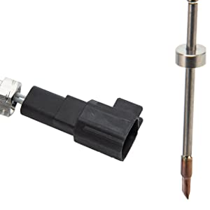 The sensor is located in the exhaust pipe and does not require special tools to unscrew and replace.